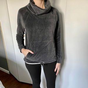 Athleta Gray Sweatshirt Size Small